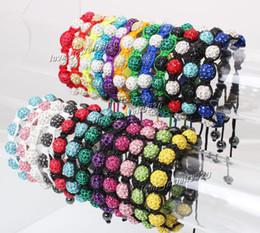 Wholesale Shambala Bracelets Macrame - shamballa shambala bracelets Macrame disco ball pave beads crystal bracelets jewelry armband cheap china fashion jewelry