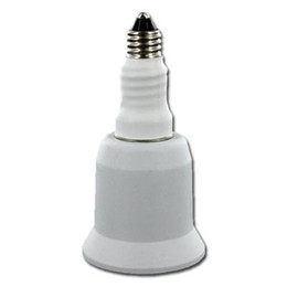 Wholesale E11 Bulb - 10pcs lot Lamp Bulbs adapter E11 TO E26 (E27) socket E11 male external to E26 female internal E11- E26 lamp holder adapter