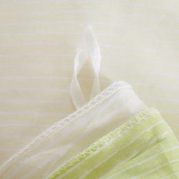 rainha do conjunto da cama dos cervos Desconto Atacado-Deer Bedding Set Gramado Verde E Bege Têxteis Lar Plain Impresso 100% Cotton Comforter Set 4Pcs Rainha A Nova Listagem