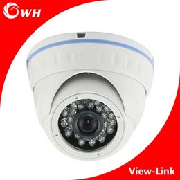 Wholesale Dome Security Camera Metal - CWH-A4201H AHD Dome Camera CCTV with metal Housing and white color and 1MP 1.3MP 2MP Resolution CCTV 1080P Home Security Surveillance Camera