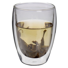 Wholesale New High Technology - Wholesale-High Standard Hot Sale 350ml Double Wall Glass Double Glass Coffee Tea Cups Glassware Mugs And Cups New Technology