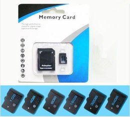 Wholesale Micro Sd 16gb Genuine - 100% Real Genuine Full Capacity Original 1GB 2GB 4GB 8GB 16GB 32GB 64GB Micro SD Card SDHC Memory TF Card with Adapter Retail Package