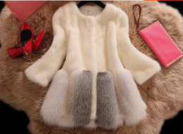Wholesale Thick Black Female Models - The new mink coat fur coat fox fur coat female models cultivating long sections S--3XL