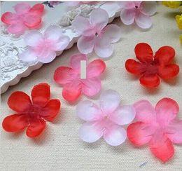 Wholesale Fake Petals - Cherry Bloss Rose Petals Simulation Cherry Blossom Petals Wedding Petals Fake Artificial Flower Home And Wedding Decor 1000pcs lot