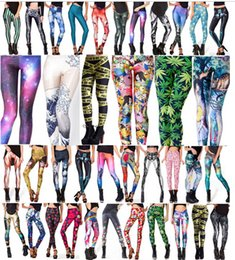 Wholesale Wholesale Graphic Pants - New Sexy 3D Slim Jeggings Graphic Tetris Colourful Print Women Stretchy Leggings Pants Gym Funky Wholsale Leggins