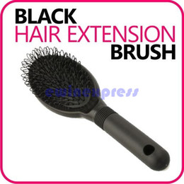 Wholesale Wholesale Wig Brushes - Hair Extension Hairbrush Brush Loop for Wig Silicone micro ring fusion bond