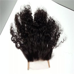 Wholesale Brazilian Virgin Huamn Hair - Hot Selling Queen Beauty Hair Brazillian virgin huamn hair 4mm Afro kinky curly Hot Selling 100% Unprocessed 10 Alace closure free shipping