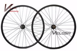 Wholesale Mountain Bike 29er Wheels - 29er MTB XC AM hookless carbon wheels 29inch mountain bike XC AM wheelset,tubeless compatible, disc brake