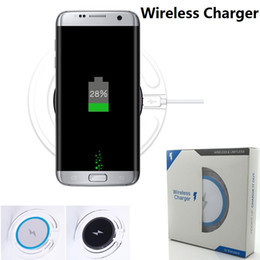 Wholesale Convertible Cars - Wireless Charger Convertible mini chargers wireless Charging Technology for Samsung Galaxy S8 S8 Plus S7 S7 edge S6