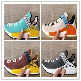 Wholesale Nobles For Sale - 2018 hot sale NMD Human Race Pharrell Williams for Men Womens Running Shoes NMD noble ink core Black Red sports Shoes eur 36-45