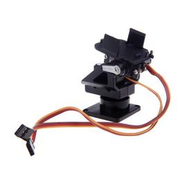 Wholesale Fpv Mount - NEW Plastic PT Kit Pan Tilt Camera Platform Anti-Vibration Mount for FPV RC order<$18no track