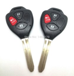 Wholesale Toyota Corolla Car Alarm - remote key for Toyota VIOS,Corolla,Camry car was produced from 2003 to 2008,315MHz, learn the code with car alarm system