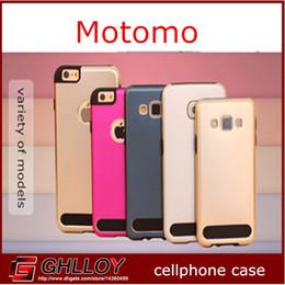 MOTOMO Aluminium Métal TPU Dur cas de Couverture Housse Pour iphone 6 4.7inch iphone6 plus 5.5inch 5s 5 60 pcs jusqu'à ? partir de fabricateur