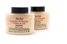 Wholesale Loose Rubies Wholesale - Ben Nye Luxury Powders Banana 42g Face Foundation Bottle Ben Nye Luxury Powders Waterproof Face Loose Powder Makeup+gift ruby woo lipstick