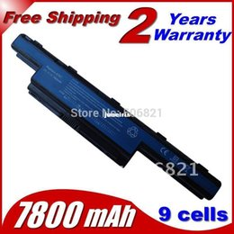 Wholesale Battery For Acer Aspire 5742 - Powerful 7800mah Laptop Battery For Acer Aspire 5736Z 5736ZG 5741 5741G 5741Z 5742 5742G 5742Z 5742ZG 5750 5750G 5750TG 5750Z 5750ZG 5755
