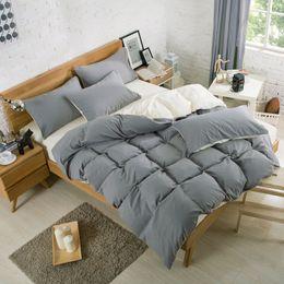 Wholesale Hand Warmer Pillow - New Bedding Sets Bed Sheets Pillow Comforter Covers Sets Pillowcase Winter Warm Soild Color Four-piece Set