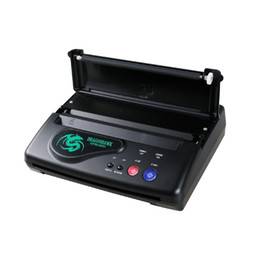 Wholesale Tattoos Stencils Machine - Tattoo Thermal Transfer Copier Machine Tattoo Stencil Transfer Machine Flash Printer Hectograph Supplies DHL Free Shipping
