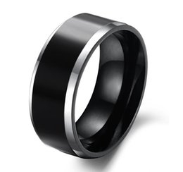 Wholesale Tungsten Mens Rings Sale - Hot Sale in Brasil 8MM Mens Tungsten Carbide Wedding Engagement Band Ring Comfort Fit Big SZ 4-14 Alliance Bridal Jewelry TU003R