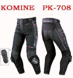 Wholesale Nylon Mesh Pant - 2015 summer new models Japan's KOMINE PK-708 mesh motorcycle pants motorbike racing pants Anti-wrestle trousers anti wrestle black color