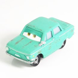 Wholesale Toy Metal For Die Casting - Pixar Cars 2 100% authentic Petrov trunkov 1:55 scale die-cast metal alloy model cute toy for kids gifts free shipping