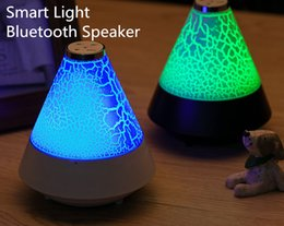 Wholesale Small Bluetooth Wireless Speakers - High Quality T12 Smart Small Night Light Pulse Pill Rugby Portable Wireless Bluetooth Mini Speaker Wireless Streaming Transform Colorful