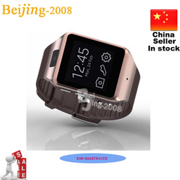 Wholesale Mps Watches - 2015 Hot Gear 2 Neo R380 Smart Watch Phone 4.0 BT Partner 2.0 MP Camera 512MB+8GB 1.63Inch Touchscreen Smart Wristwatch for Galaxy S5 Note 4