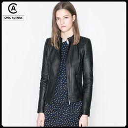Canada Girl Short Black Leather Jacket Supply, Girl Short Black ...