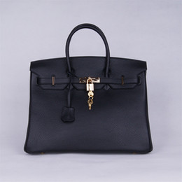 Wholesale Handbag Navy - new arrival women's casual genuine leather cowhide, hobos, hot sale handbags, totes, fashion,35cm