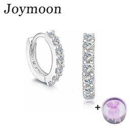 Wholesale Wholesale Cz Earings - 925 Sterling Silver Earrings for Women Earings Brincos CZ Diamond Hoop Pendientes Cuff Wedding Joymoon Brand Two Gifts a3 G0408