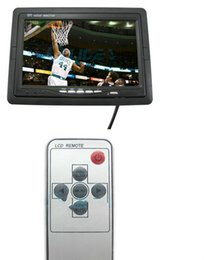 Wholesale Lcd Tv Color Screen - Promotional 7'' TFT LCD Color Dashboard Backup Camera Car LCD Monitor