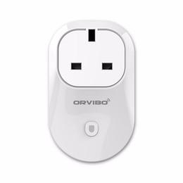 Wholesale Socket Plugs - Orvibo Smart Wifi Plug Socket Remote Control repeater Plug Socket Intelligent Smart Device EU UK US AU Socket Plug Andoid ios App
