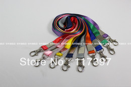 Wholesale Badge Cards - Wholesale-Free Shipping wholesales ID BADGE Lanyard with metal clip id card lanyard 1.5 cm width 50pcs lot