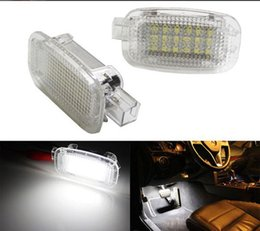 Wholesale w221 mercedes - Error Free 2X LED Car Door Courtesy Luggage Footwell Shadow Lights For Mercedes Benz W204 W216 W217 W221 R230 C197 W212 W169 Canbus