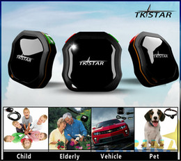 Wholesale Tracker For Persons Pets - 2016 New Design Mini Waterproof GPS Tracker TKStar for person  pets and bicycle Via GPRS GSM On Mobile Phone