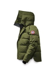 Wholesale Full Rib - 2017 Canada New Arrival sale men's Down parka Macmillan Black Navy Gray Jacket Winter Coat  Parka Fur sale With Free Shipping Outlet