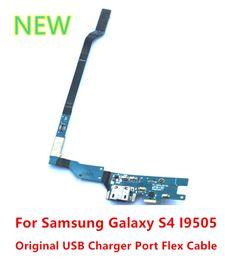 micrófono flexible Rebajas Para Samsung Galaxy S4 i9505 Cargador USB Original Puerto de Carga Mic Flex Cable 50 unids / lote envío gratis