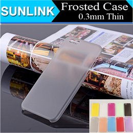Wholesale Iphone 5c Colorful Case Cover - Colorful Clear Frosted Matte Ultra Thin Soft PP 0.3mm Cases For iPhone 6 6s Plus 5S se 5c Samsung Galaxy S6 S7 Edge J1 J5 Cheap Back Cover