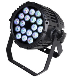 Wholesale Quad Auto - Free shipping Top selling 18X10W Silent IP65 Outdoor RGBW RGBA Quad color 4in1 LED Par Light