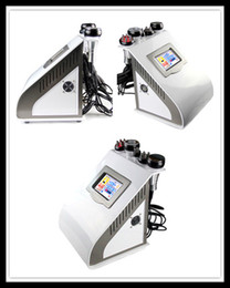 Wholesale Mini Liposuction Machine - 5 in 1 Ultrasonic Liposuction Cavitation Slimming Machine Beauty Equipment Mini Lipocavitation