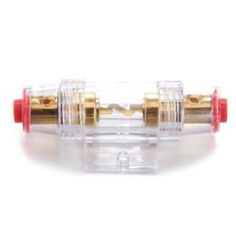 Wholesale Fuse Car Audio - Wholesale-SZS Hot 4 8 Gauge Fuse Holder Fuse Holder 80A Car Audio Part Electronics
