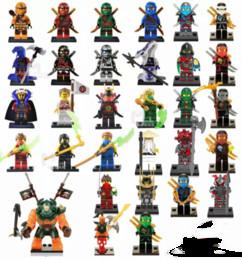 Wholesale Toys Figure Wholesale - 31pcs Ninja figures marvel super heroes minitoy go building blocks figures bricks toys action figure