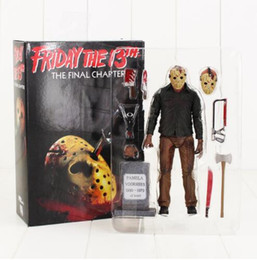 Wholesale Neca Toys - NECA Friday the 13th The Final Chapter Jason Voorhees PVC Action Figure Collectible Model Toy 19CM