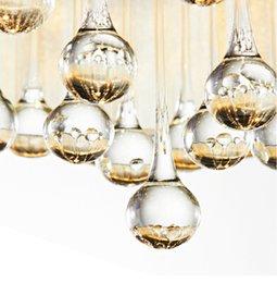 Wholesale Crystal Drum Pendant Lights - Wholesale-Flushmount Crystal Drum Shade Crystal Ceiling Chandelier Lustres Crystal Pendant Chandelier Light Fixture Home Decor Luminaire
