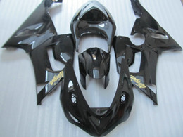 Wholesale Gloss Black Kawasaki Zx6r Fairings - 7 Gifts!!Motorcycle Fairing kit for KAWASAKI Ninja ZX6R 05 06 ZX 6R 636 2005 2006 ZX-6R gloss black Fairings bodywork SP69