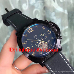 Wholesale Military Leather Watch Bands - Hot 2017 Winner Luxury Brand Luxury Sport Men Automatic Skeleton Mechanical Military Watch Men full Steel Stainless Band reloj