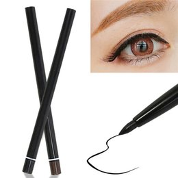 Wholesale Eyeliner Pencil Makeup Rotary Retractable - New Arrivals Pro Waterproof Eyeliner Eyebrow Pencil Cosmetic Makeup Tools Automatic Retractable Rotary Black Brown TX272 Free Shipping