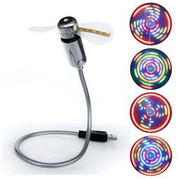 Красочные USB вентилятор LED освещение мини-вентилятор с выключателем для компьютера 2016 новое прибытие 100 шт. / лот dhl бесплатно от Поставщики увеличительная линза