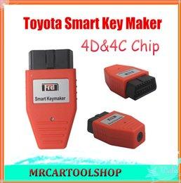Wholesale Eobd Programmer - 20% Discount! 2015 Toyota Smart Key maker 4D chip Toyota Smart Keymaker OBD2 Eobd Key Programmer Free shipping 3 Years Warranty