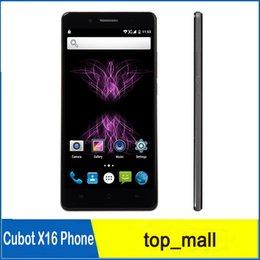 "Wholesale Cubot Unlocked Phones - Original Unlocked Cubot X16 4G LTE Quad Core MTK6735 Android 5.1 Lillipop OTG Hotnot 5.0"" Cell Phones 2GB+16GB 010024"