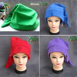 Wholesale Zelda Cap - legend of zelda link hat cosplay costumes play cap zelda hat christmas hat